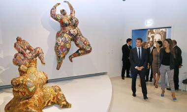 CBC na exposição Niki de Saint Phalle